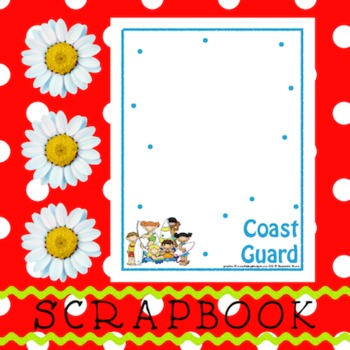 Scrapbook - Yearbook Page: Coast Guard 1