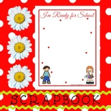 Scrapbook - Yearbook Page: First Day of School 2