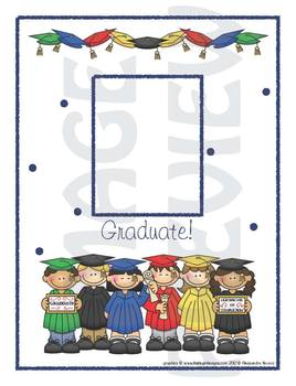 Scrapbook - Yearbook Page: Graduation Picture