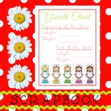 Scrapbook - Yearbook Page: Growth Chart