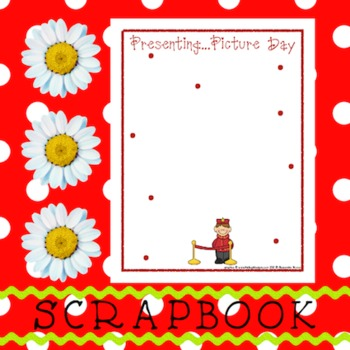Scrapbook - Yearbook Page: Picture Day