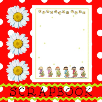Scrapbook - Yearbook Page: Plants 1