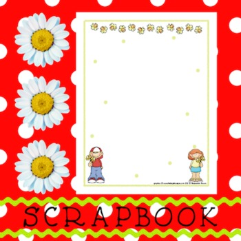 Scrapbook - Yearbook Page: Plants 2