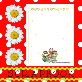 Scrapbook - Yearbook Page: Plants 3