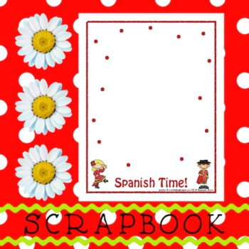 Scrapbook - Yearbook Page: Spanish