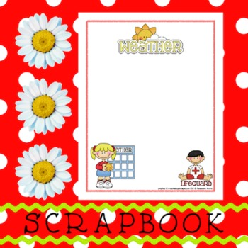 Scrapbook - Yearbook Page: Weather