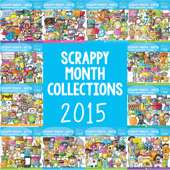 Scrappy 2015 - A Year of Scrappy Doodles