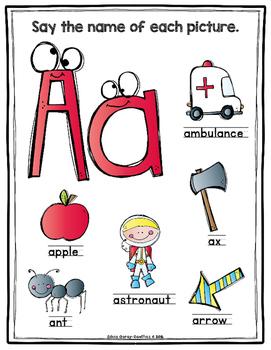 Scrappy Alphabet Anchor Charts