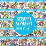 Scrappy Alphabet Super Set