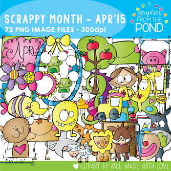 Scrappy Month Collection - April 2015