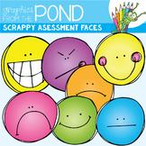 Scrappy Assessment Faces Clipart Set