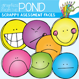 Scrappy Assessment Faces Clipart Set