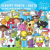 Scrappy Month Collection August 2015
