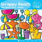 Scrappy Beach Clipart