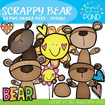 Scrappy Bear