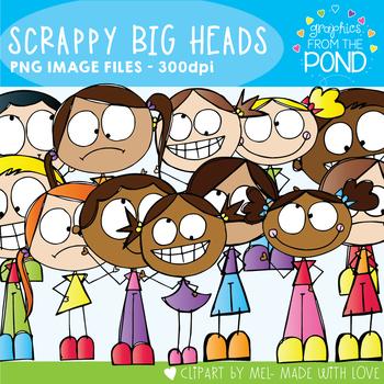 Scrappy Big Heads