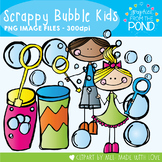 Scrappy Bubble Kids - Clipart for Teachers and Teaching