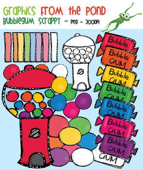 Scrappy Bubblegum Clipart