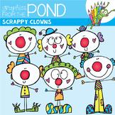 Scrappy Clown Clipart