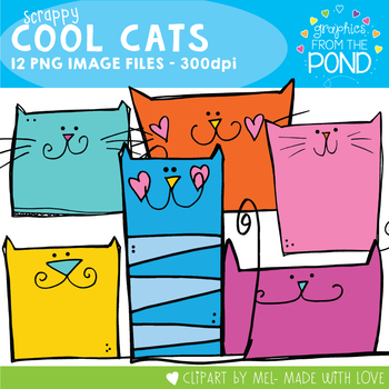 Scrappy Cool Cats