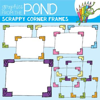 Scrappy Corner Frames
