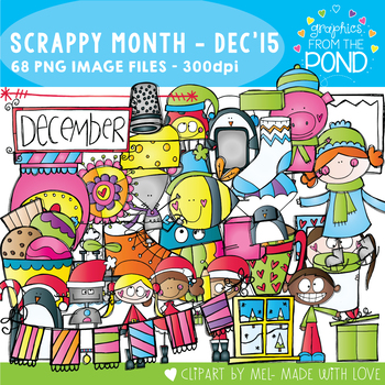 Scrappy Month Collection - December 2015