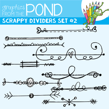 Scrappy Dividers Set 2