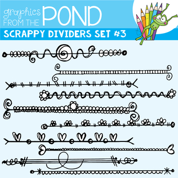 Scrappy Dividers Set 3