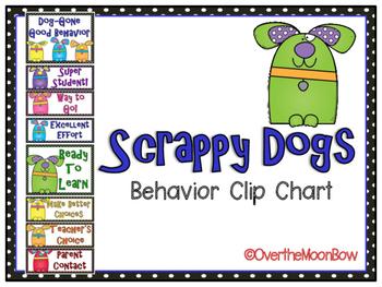 Scrappy Dogs Behavior Clip Chart