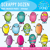 Scrappy Dozen - Clipart for Easter and Spring
