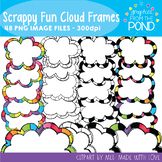 Scrappy Fun Cloud Frames