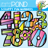 Scrappy Fun Numbers - Clipart for Teachers