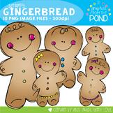 Scrappy Gingerbread Clipart