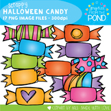 Scrappy Halloween Candy Clipart