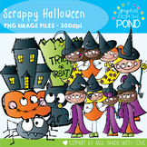 Scrappy Halloween -  Clipart for Teachers and Halloween