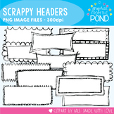 Scrappy Headers - Graphics for Teachers