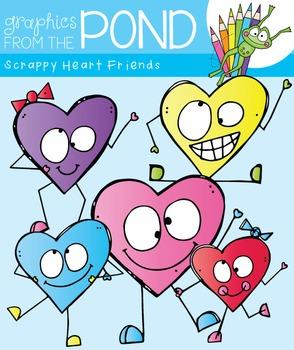 Scrappy Heart Friends