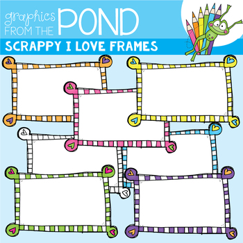 Scrappy I Love Frames