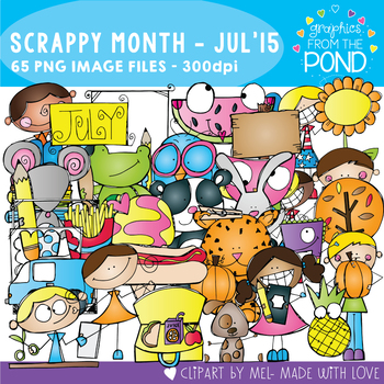 Scrappy Month Collection - July