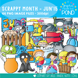 Scrappy Month Collection - June 2015