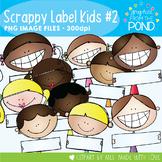 Scrappy Label Kids Set 2