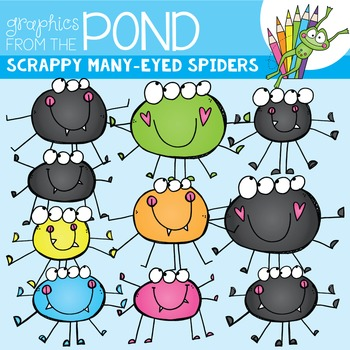 Scrappy Many-Eyed Spiders