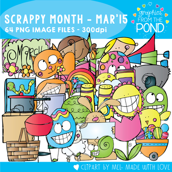 Scrappy Month Collection - March 2015