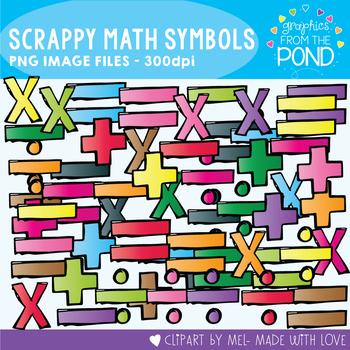 Scrappy Math Symbols