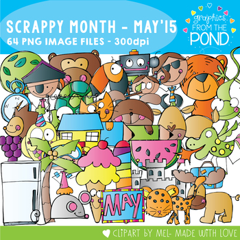 Scrappy Collection - May 2015