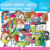 Scrappy Month Club - November 2014