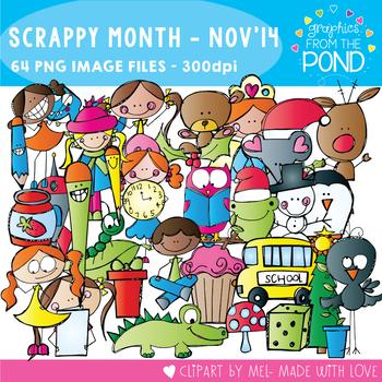 Scrappy Month Club - November 2014