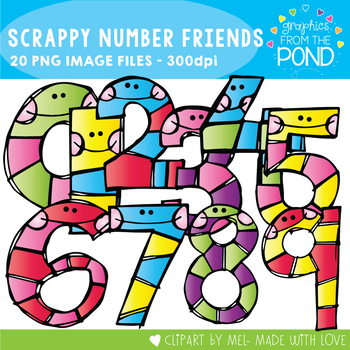 numbers to 20 clip art teaching resources teachers pay teachers rh teacherspayteachers com