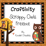 Scrappy Owl Craftivity Freebie
