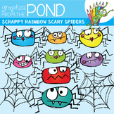 Spiders and Webs -  Clipart for Teachers
